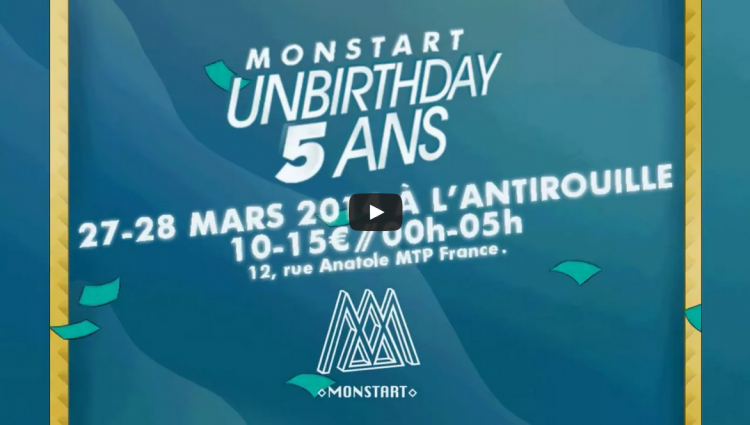 Unbirthday 5 ans teaser monstart