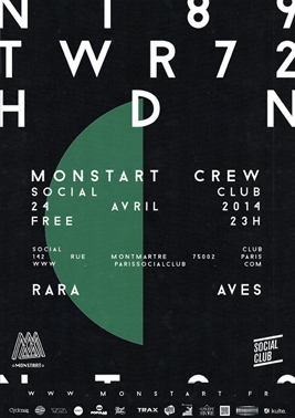 RARA AVES @ Social Club Paris