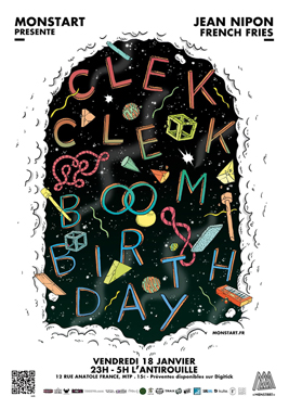 Clek Clek Boom Birthday
