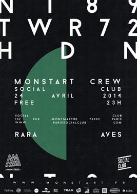 RARA AVES @ Social Club Paris