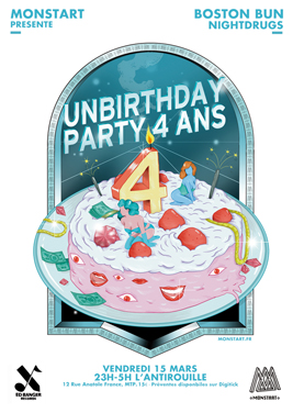 Unbirthday 4 ans