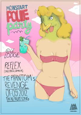 Monstart Poule Party