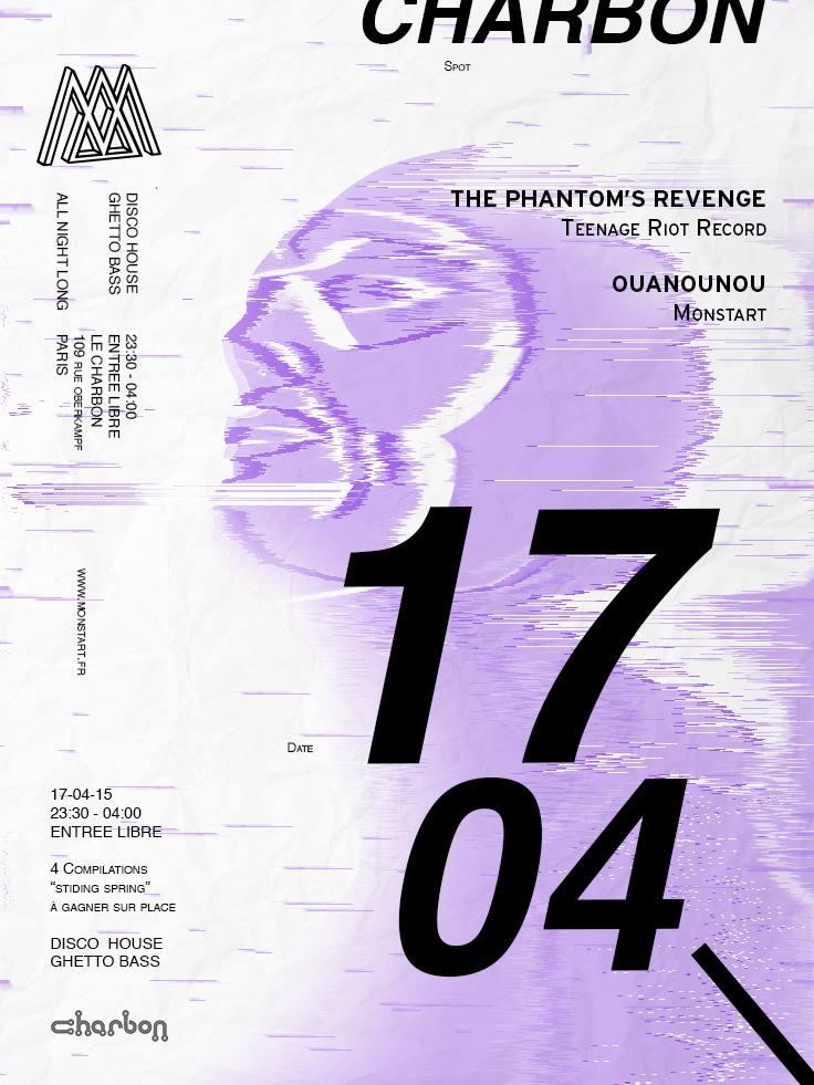 Monstart Charbon The Phantom's Revenge Ouanounou