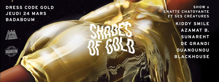 monstart shades of gold badaboum paris